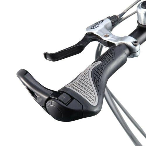 1 Pair Bike Handle Bar End Handlebar Grips Cycle Bicycle Mountain MTB Ergonomic