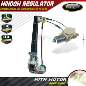 E39 ELECTRIC WINDOW REGULATOR COMPLETE REAR RIGHT for BMW 5 SERIES