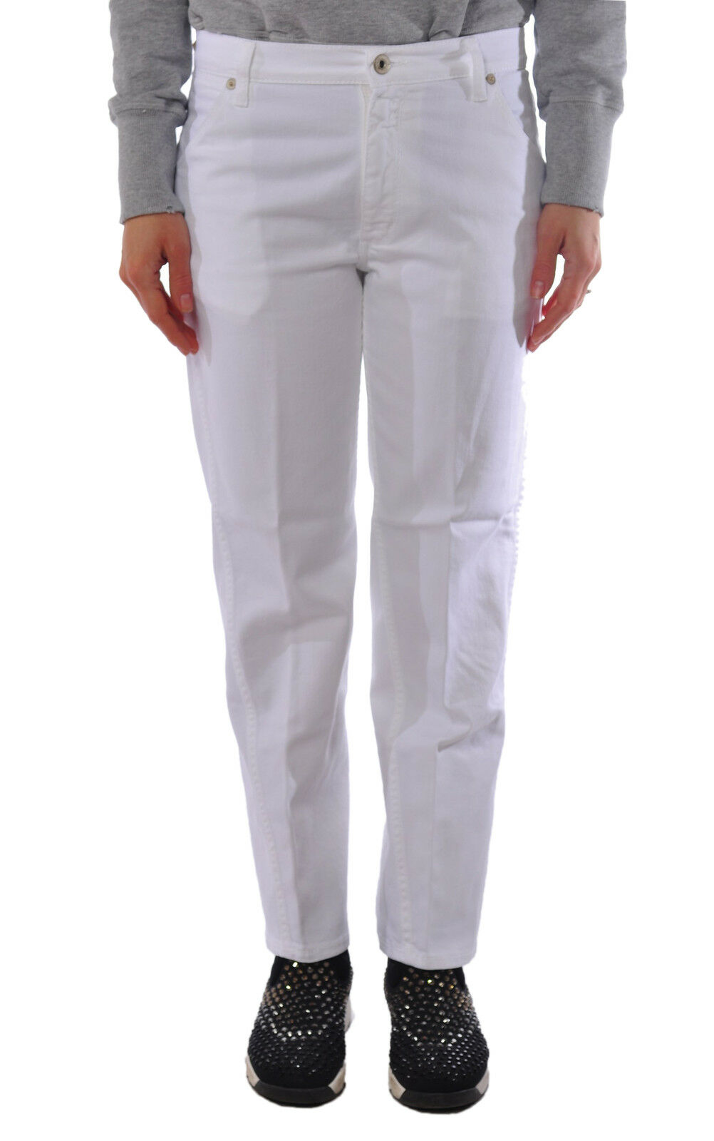 Dondup  -  Pants - Female - 25 - White - 1321304B162436