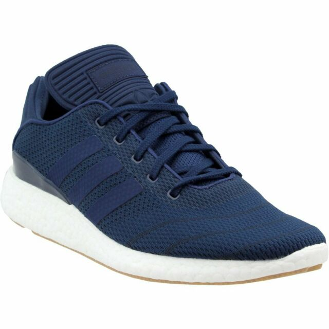 adidas BUSENITZ PURE BOOST PK Athletic Cross Training Neutral Shoes Navy Mens