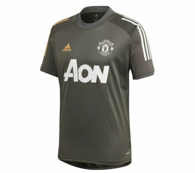 adidas Manchester United Soccer Training Jersey M FR3655 for sale ...