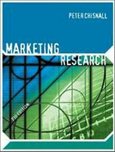 Marketing Research Taschenbuch Peter M.Peter Michael