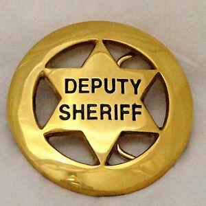 Deputy-Sheriff-Six-Point-Star-Badge-Belt-Buckle-Brass