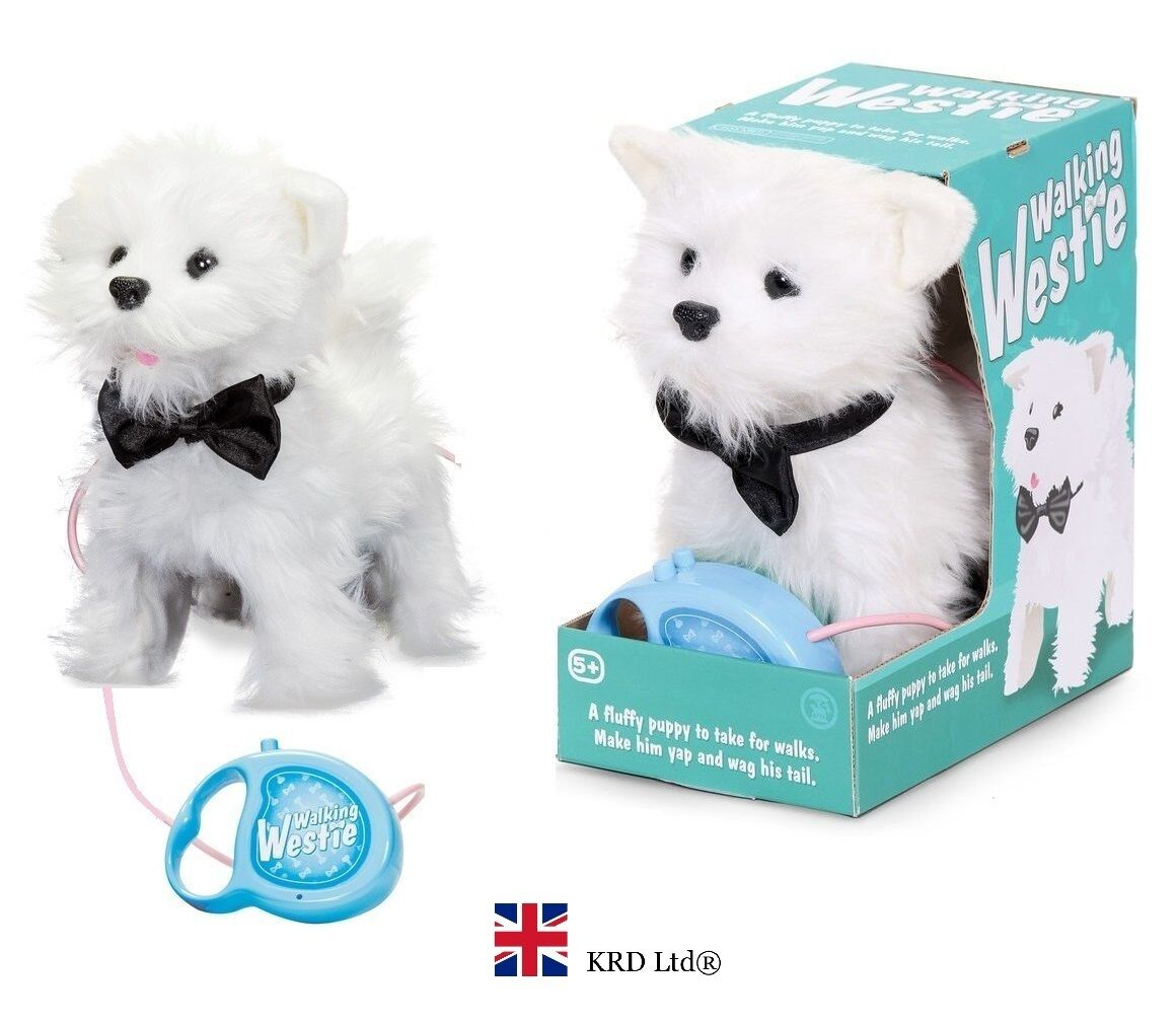 Walking Dog White Toy
