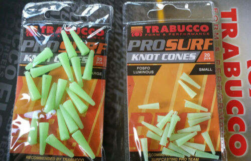 surf casting knot cones to protect your swivels and knots from weed and chafe