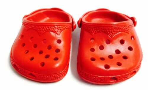 Red Duc Shoes made for 18 inch American Girl Doll Clothes