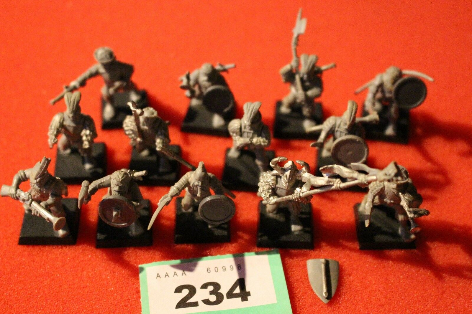 Games Workshop Warhammer Bretonnian Empire Men at Arms Part Metal Regiment GW