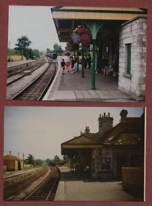 Corfe-Castle-Railway-Station-1996-amp-1992-photographs-ac-41