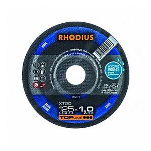 Rhodius Xtk 20 - 230 X 1,9 Mm-extra Fine Acier-meule De Tronçonnage 206313-eibe 206313 Fr-fr Afficher Le Titre D'origine