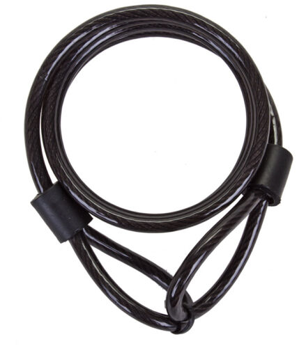 Sunlite Coiled Cable-8mm x 6ft-Black