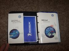 2000 Volkswagen VW Golf Owner User Guide Manual GL GLS TDI 1.9L 1.8L 2.0L RARE