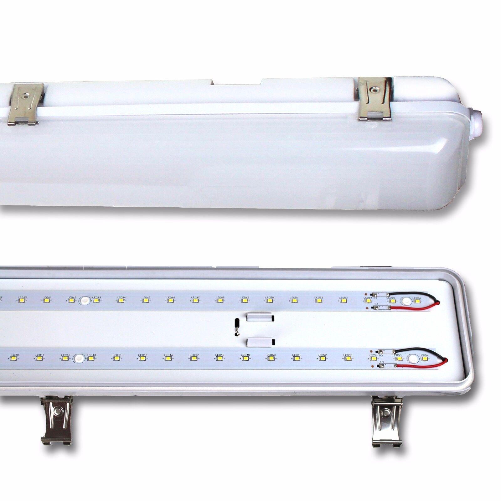 LED 4FT or 1,5 m Tri-prueba no corrosivo Luminaria IP65 Impermeable Tubo Ajuste