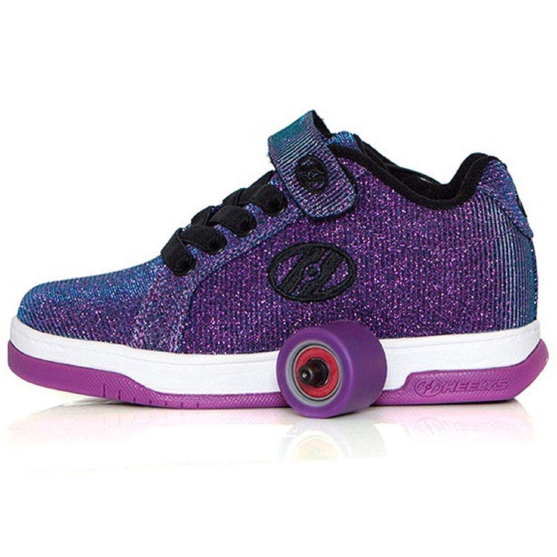 HEELYS SPLIT GIRLS lila AQUA GIRLS SPLIT BOYS ROLLER SKATE Schuhe TRAINER HES10121 9a78ad