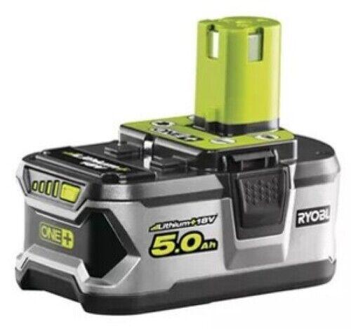 Batterie Ryobi 5.0 Ah Lithium + 18V Une + RB18L50