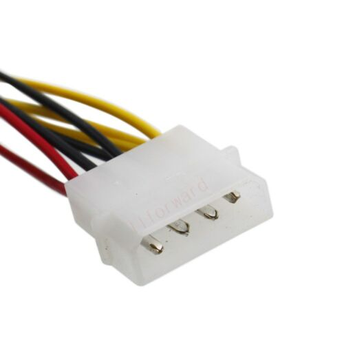 4pin to 4x 3pin 12V 7V 5V Connector PC Cooling Fan extension Power Cable
