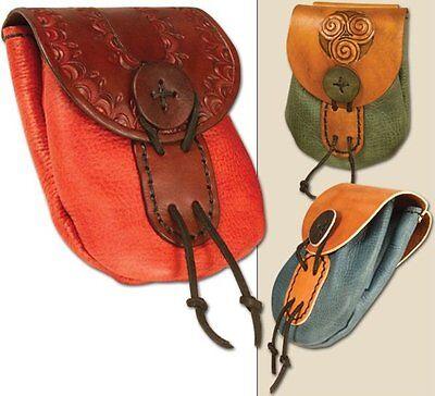 "4-1/2"" x 6"" WINSOR BELT BAG KIT 44346-00 Tandy Leather Craft Medieval Bags Kits"