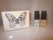 Luminess Air/Stream Airbrush Makeup Moisturizer M1 Primer & G1 Glow Free Ship