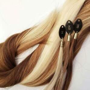 25-Straehnen-Bonding-Schnitthaar-Haarverlaengerung-Extensions-Schnitthaar-Echthaar