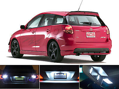 LED for Toyota Prius Xenon White License Plate//Tag LED Lights Bulbs 2 pieces