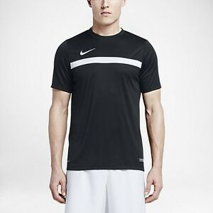 NEW NIKE DRY ACADEMY MEN S SHORT SLEEVE FOOTBALL SOCCER TOP DRI-FIT ... 68f050636e34d
