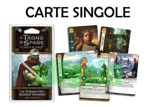 A Game of Thrones LCG 2 ^ edition the road to Winterfell Individual Cards