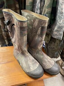 GUIDE GEAR SCENT FREE THINSULATE ULTRA  MENS HUNTING RUBBER BOOTS CAMO Sz 13 AC