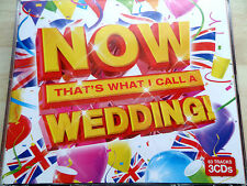 NOW THAT'S WHAT I CALL  A WEDDING  3 x CD  *NEW & SEALED* ROBBIE WILLIAMS UB40