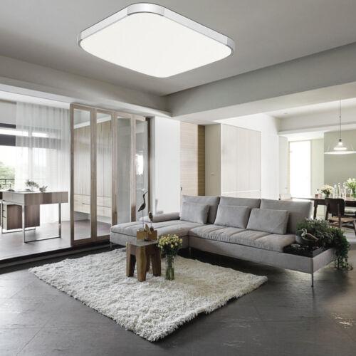 Modern Square LED Ceiling Light 18//36//48W Living Room Bedroom Surface Mount PW