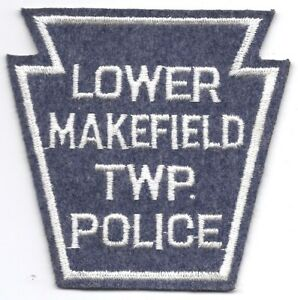 TOWNSHIP OF LOWER MERION POLICE PATCH PENNSYLVANIA POLICE PATCH