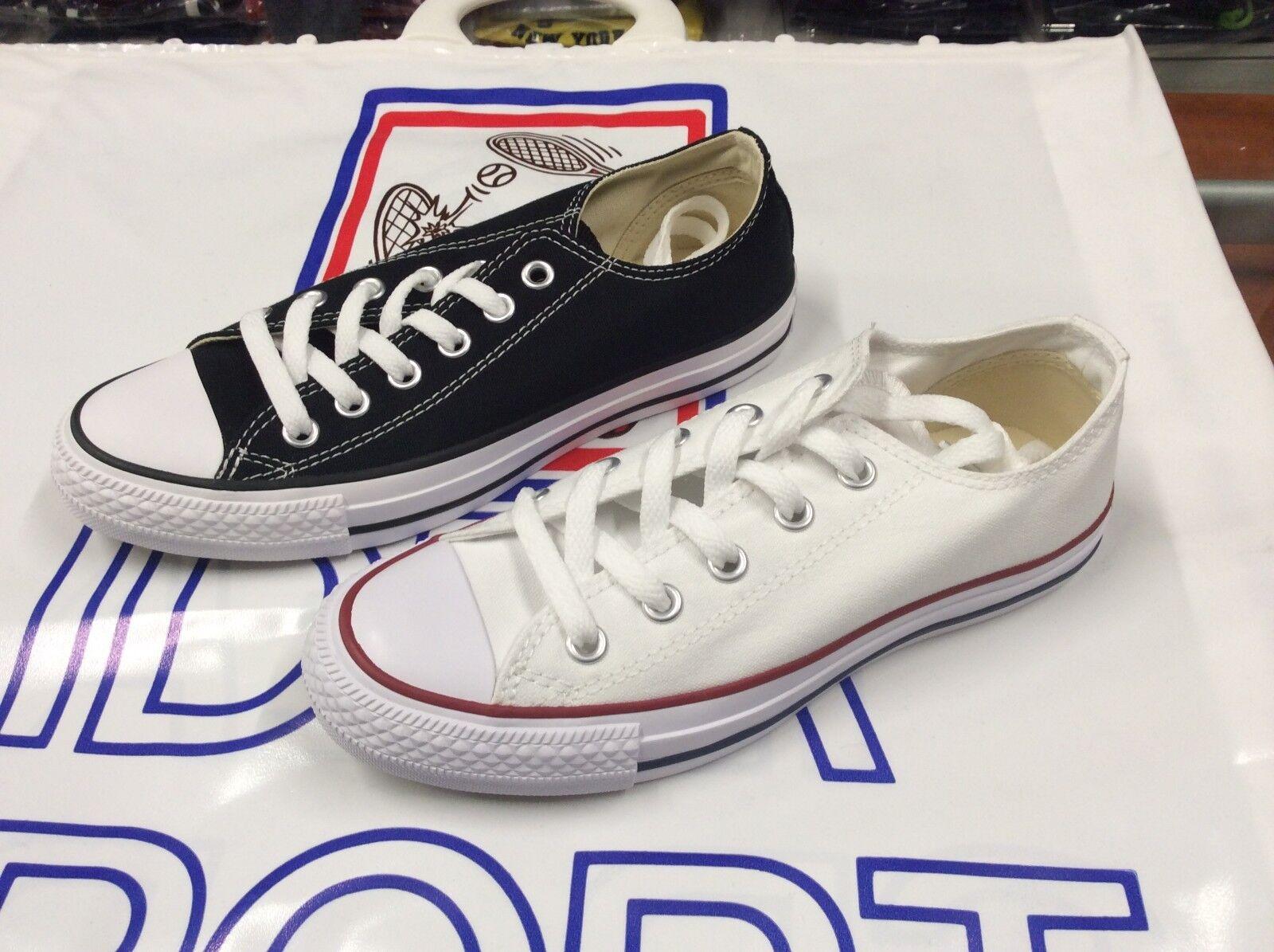 Zapatos NEGRO  UNISEX CONVERSE art. M7652C BLANCO  M9166C NEGRO Zapatos mod.ALL STAR OX LONA 71b8ba
