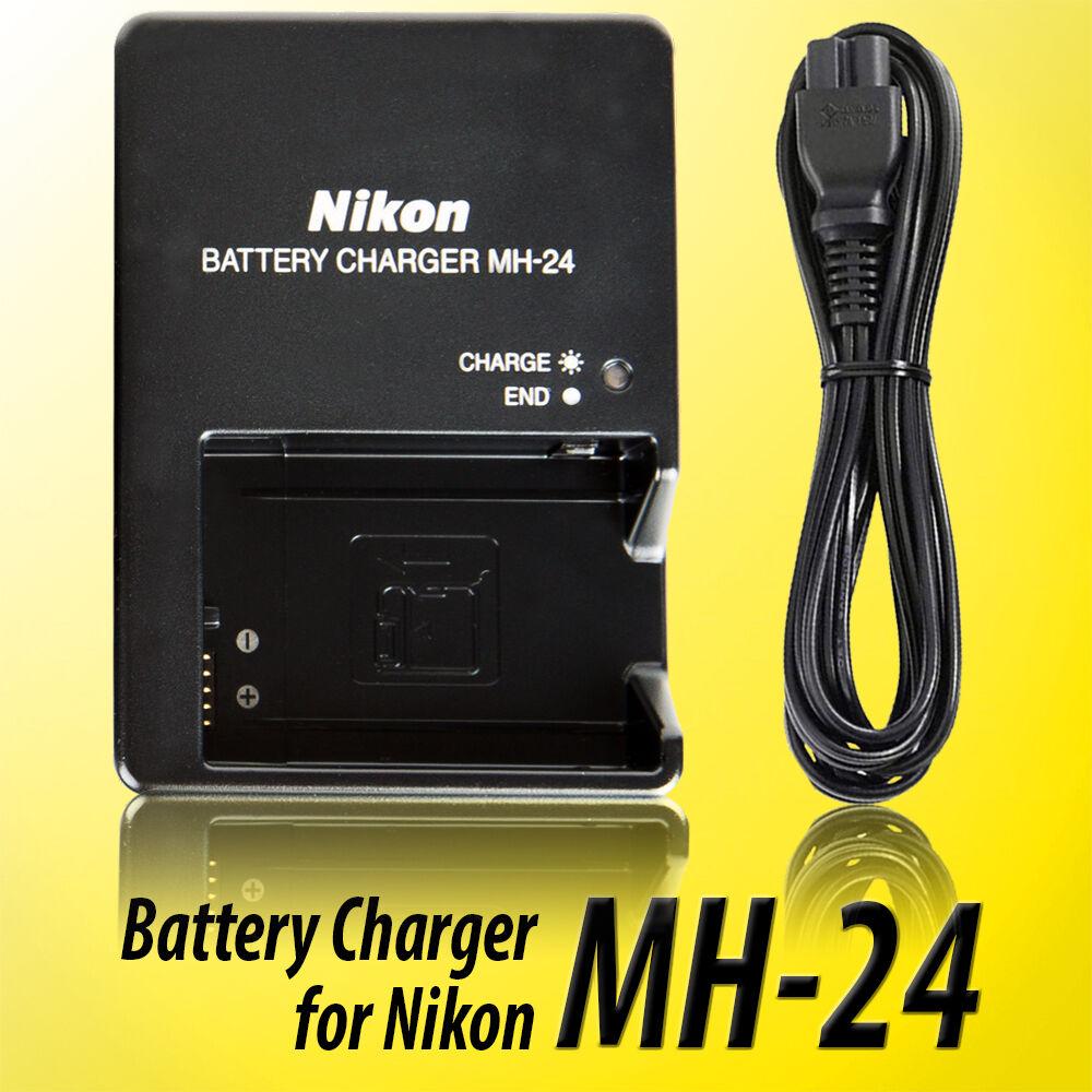 Genuine Mh 24 Nikon Charger En El14 Amp En El14a Battery