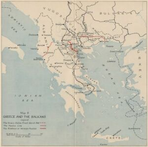 Operation marita 1941 greece and the balkans world war 2 1956 old image is loading operation marita 1941 greece and the balkans world gumiabroncs Gallery