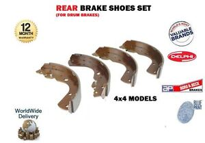 K8N-100126 Transit Auto Rear Brake Drum Shoes Kit For Ford Ranger Mazda B3000 B2500 B2300 B4000