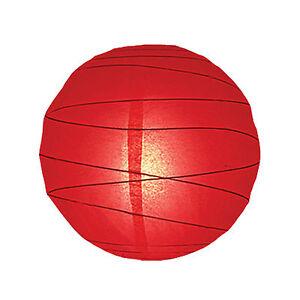 6812 12 red paper lantern pendant hanging shade light bedroom ebay image is loading 6812 12 034 red paper lantern pendant hanging aloadofball Image collections