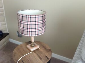 Marble Brass Retro Vintage Table Lamp