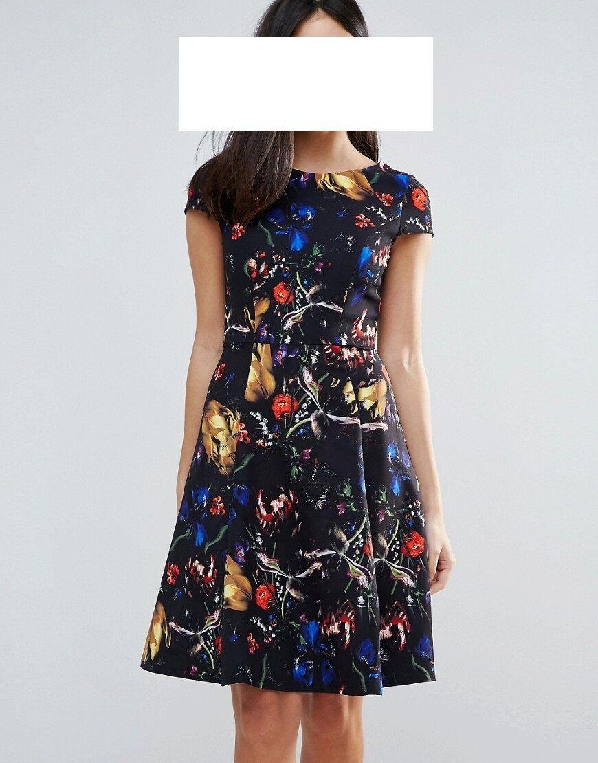 Designer Kleid Paper Dolls Größe 38 NEU