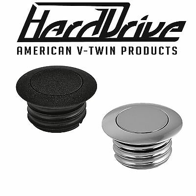 Harley Davidson HardDrive Screw In Locking Fuel Gas Cap LowRider Fatboy Lo