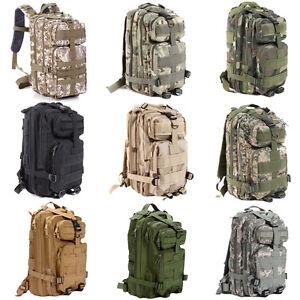 Hiking-Camping-Bag-Army-Military-Tactical-Trekking-Rucksack-Backpack-Camo-30L