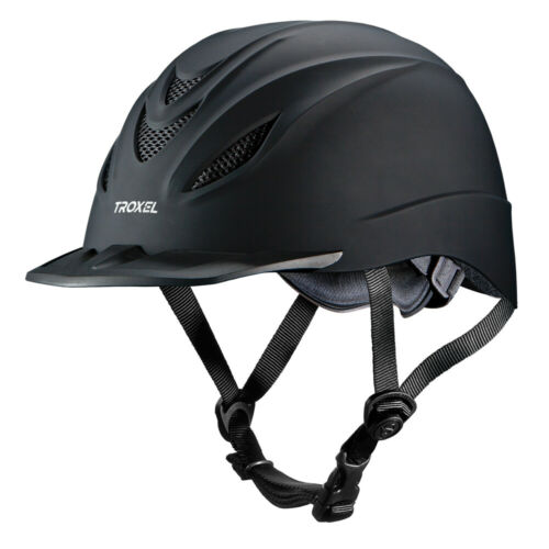 C-47XL X Large Troxel Horse Riding Helmet English Intrepid Black