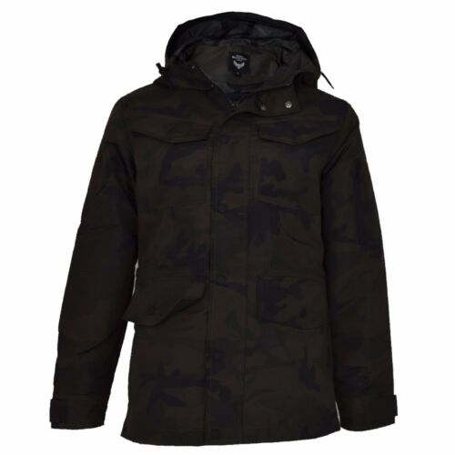 Brave New Camoflauge Hooded Camouflage Camo Jacket Lined Mens Soul Fully 7PqdwZx7Ra