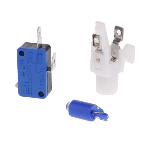 12V DC Arcade Spiel Button Arcade-Taster mit Blau LED Druckknopf Schalter