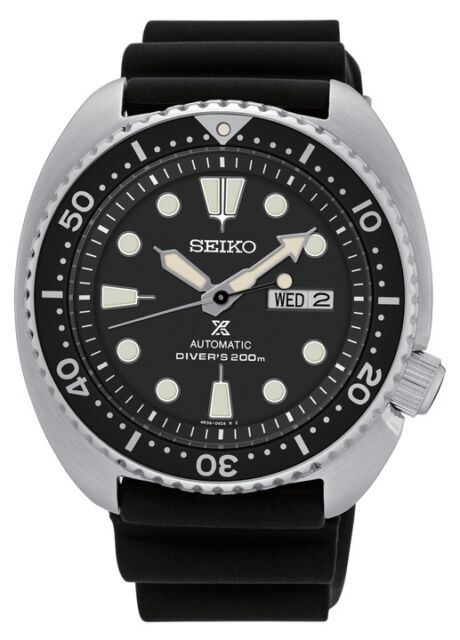 New Seiko SRP777 Prospex X Automatic Black Rubber Strap 200M Diver's Men's Watch