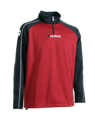 PATRICK,1//2 Reißverschluß,navy burgund,3XS-3XL Trainingssweater GRANADA 101 v