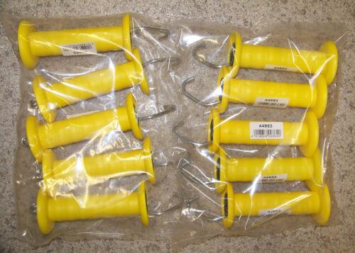 Torgriffe Weidezaungriffe in Trendfarben mit Haken NEUHEIT 10er Pack