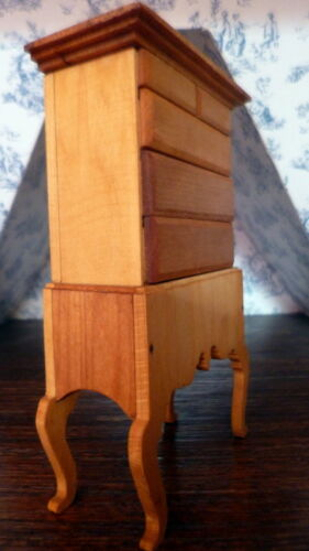 RARE Vintage TYNIETOY HIGHBOY Dresser Dollhouse Miniature