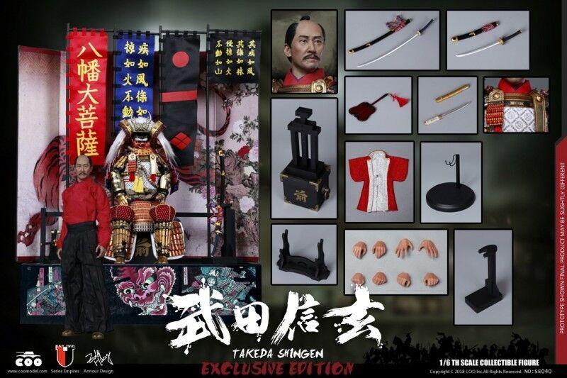 Takeda Shingen Tigre de la serie 1 6 Imperio de Kai COOMODEL SE040 Modelo