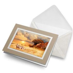 Greetings-Card-Biege-Cheetahs-in-the-African-Savanna-21328