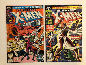 X-Men 146 &147 by Chris Claremont and Dave Cockrum. High Grades.