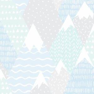 Over-The-Arc-En-Ciel-Montagnes-Papier-Peint-91052-Lignes-Pois-Triangles