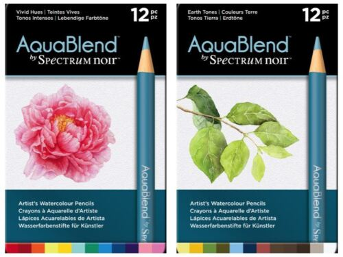 FULL RANGE! *OFFER* Spectrum Noir ColourBlend Pencils Art AquaBlend